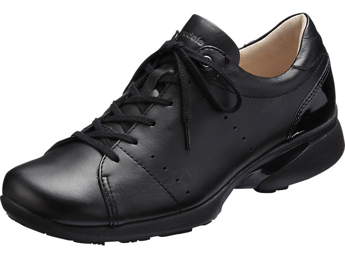 Front Left view of PEDALA WALKING SHOES 2E, ブラック