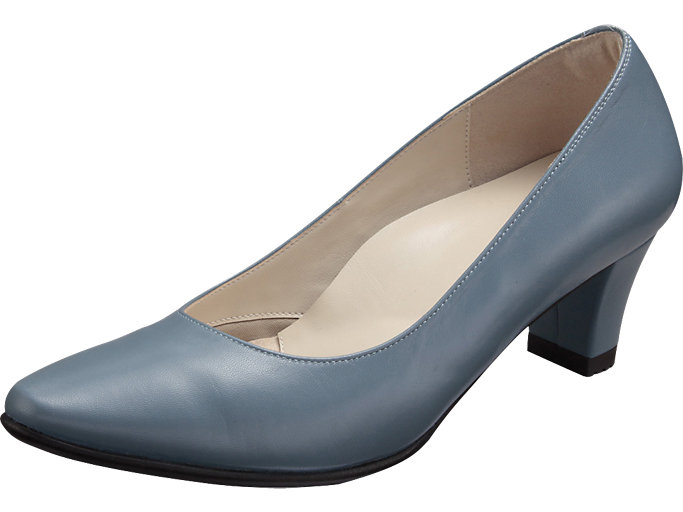 PEDALA WALKING SHOES 2E, グレイッシュブルー