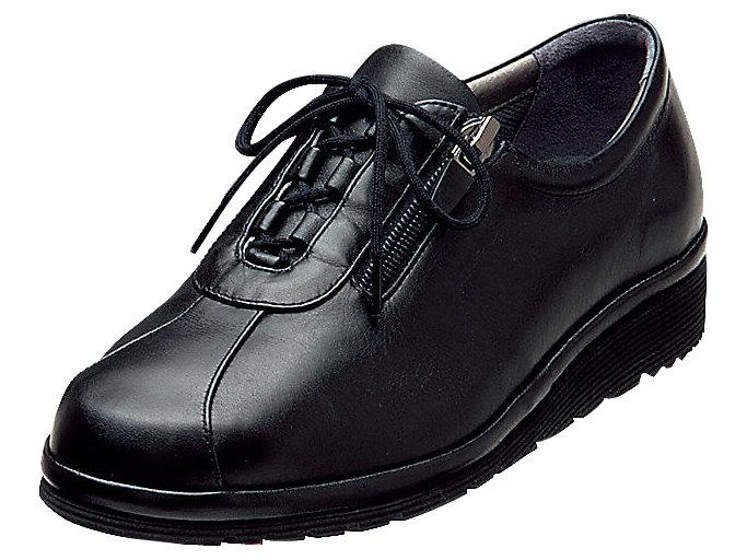 ペダラ レディース 4E, ブラック