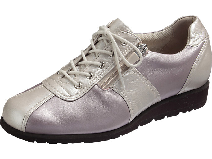 Front Left view of PEDALA WALKING SHOES 3E, GSPP / SV