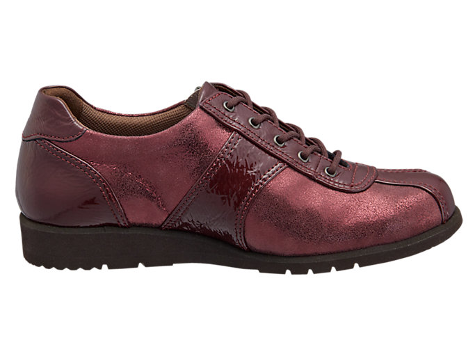Front Left view of PEDALA WALKING SHOES 3E, ポートロイヤル/ポートロイヤル