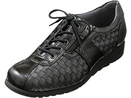 PEDALA WALKING SHOES 3E, BLACK/BLACK/CARBON
