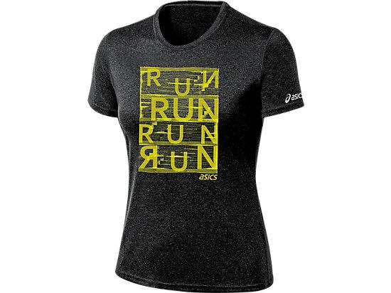 Urban Run Tee Black Heather 3
