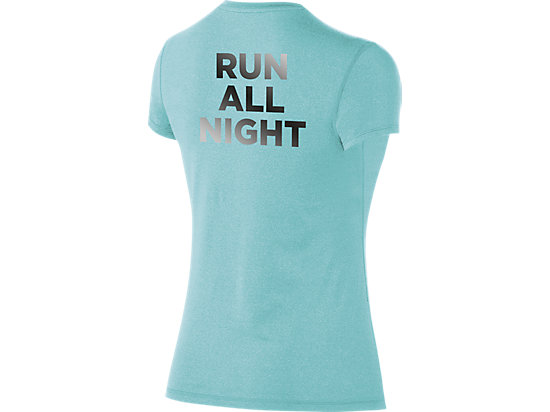 W 24/7 Tech Tee Turquoise/Slate Heather 7
