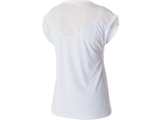 Lite-Show Short Sleeve Top Real White 7