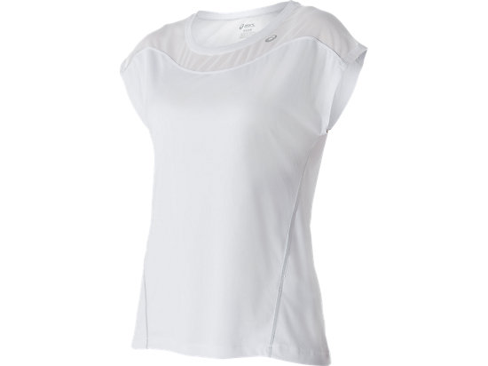 Lite-Show Short Sleeve Top Real White 3