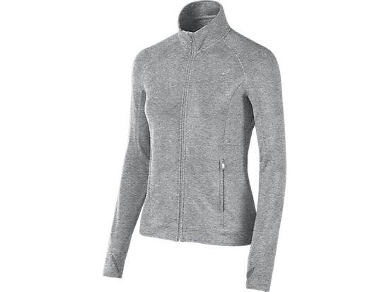 Full Zip Fleece Heather Grey 3