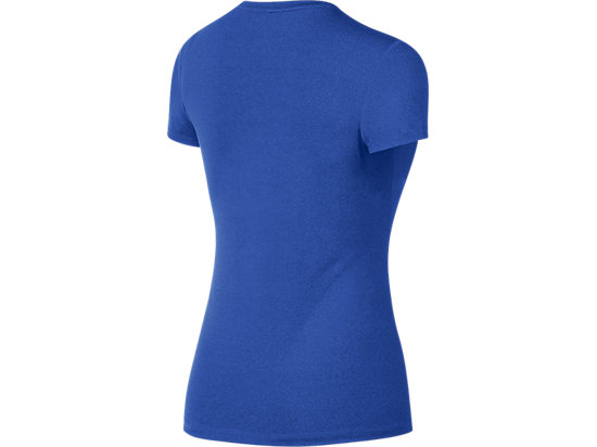 Run Chic Tee Royal Blue Heather 7