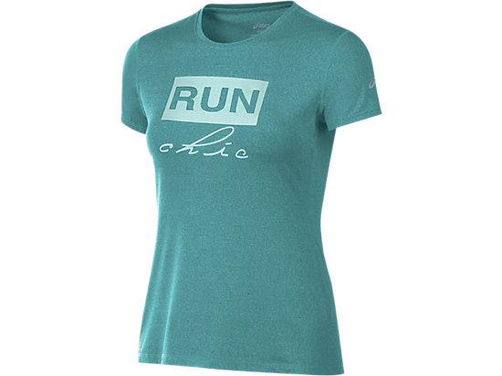 Run Chic Tee Soothing Sea Heather 3