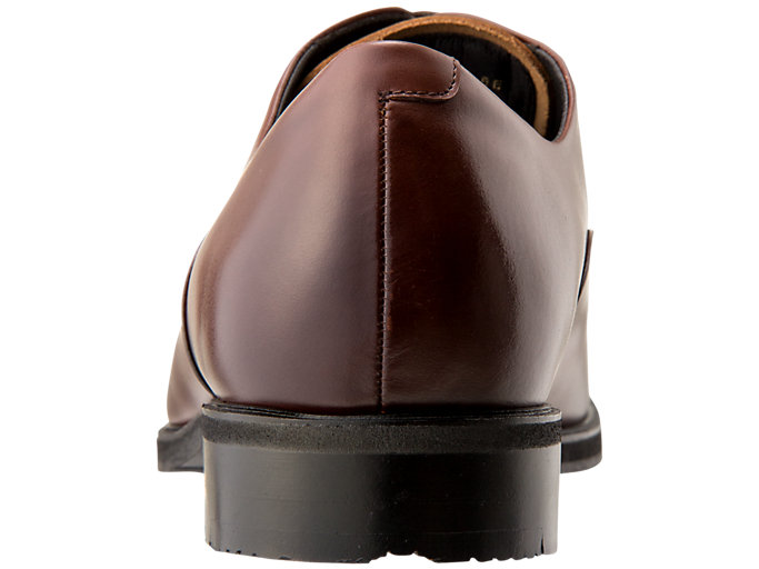 Back view of ランウォーク メンズ 2E, BROWN