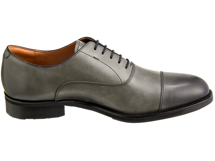 Front Left view of RUNWALK WALKING SHOES 3E, STONE GREY