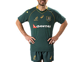 WALLABIES REPLICA CAPTAINS RUN JERSEY