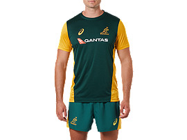 WALLABIES REPLICA MATCH DAY TRAINING TEE