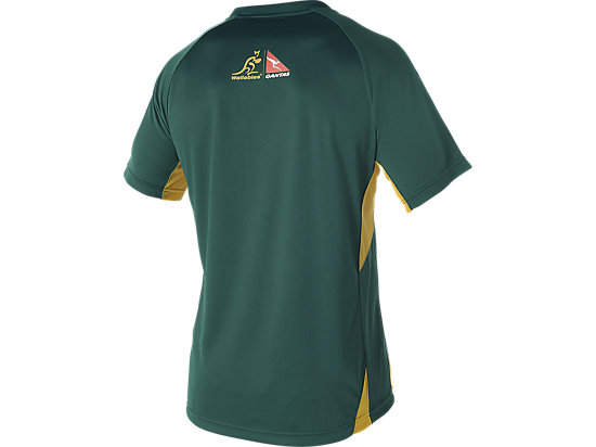 WALLABIES 2016 REPLICA MATCH DAY TRAINING T-SHIRT GREEN 11