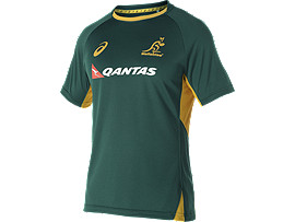 WALLABIES 2016 REPLICA MATCH DAY TRAINING T-SHIRT