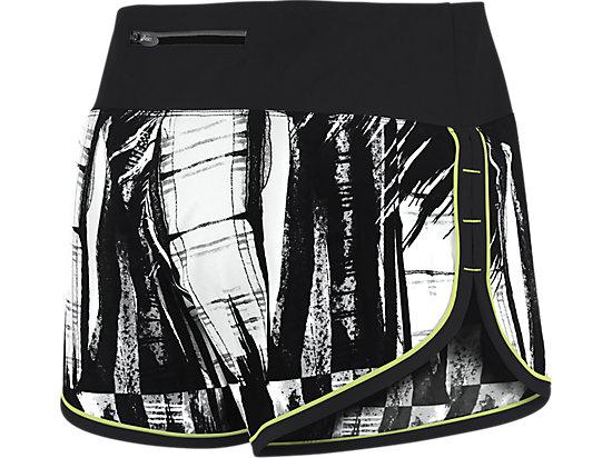 Everysport Short Black White Glitch Print 7