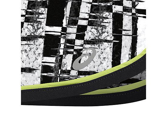 Everysport Short Black White Glitch Print 11