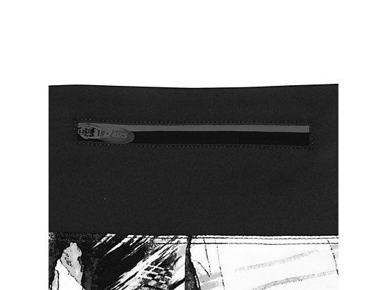 Everysport Short Black White Glitch Print 19