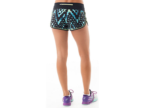 Everysport Short Turquoise Check Print 7