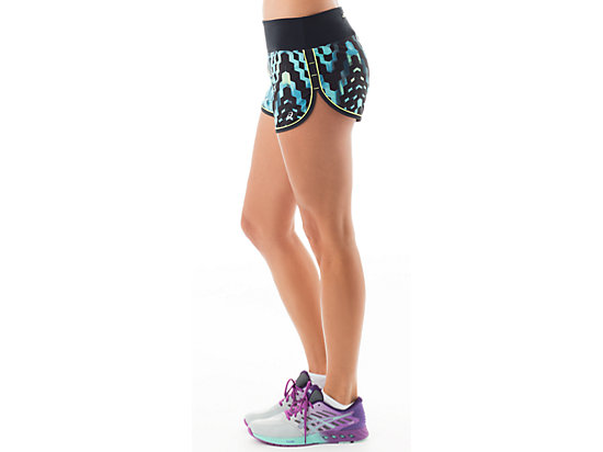 Everysport Short Turquoise Check Print 11