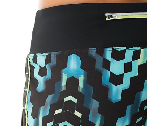 Everysport Short Turquoise Check Print 27