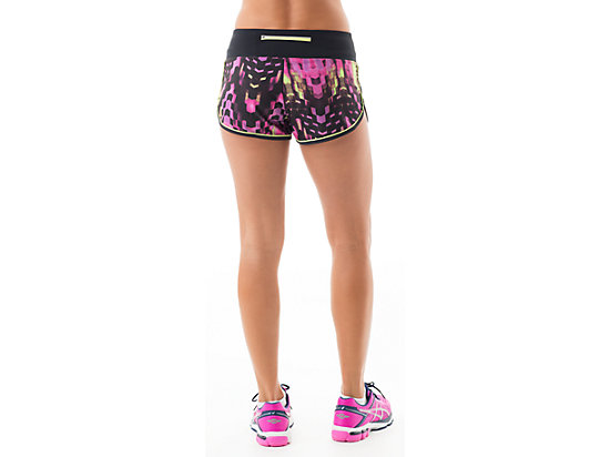 Everysport Short Eggplant Check Print 7