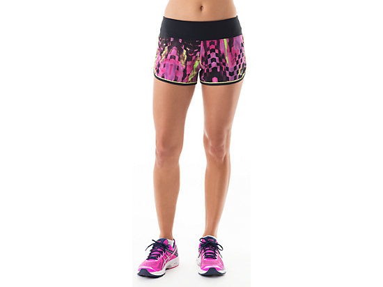 Everysport Short Eggplant Check Print 3
