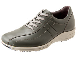 PEDALA WALKING SHOES 3E, SILVER/DARK GREY