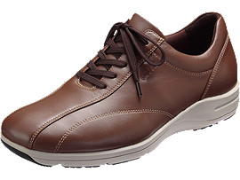 PEDALA WALKING SHOES 4E, ブラウン