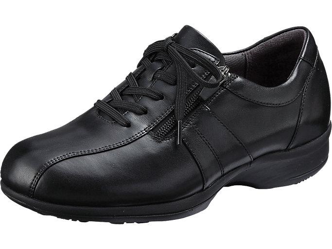 PEDALA WALKING SHOES 4E, ブラック