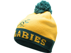 SUPPORTER GREEN & GOLD BEANIE