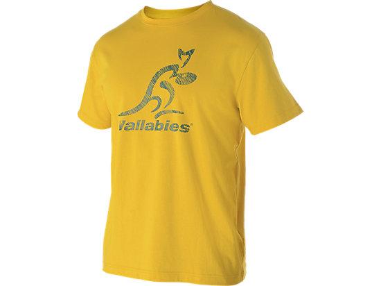 WALLABIES 2016 SUPPORTER LOGO T-SHIRT GOLD 3