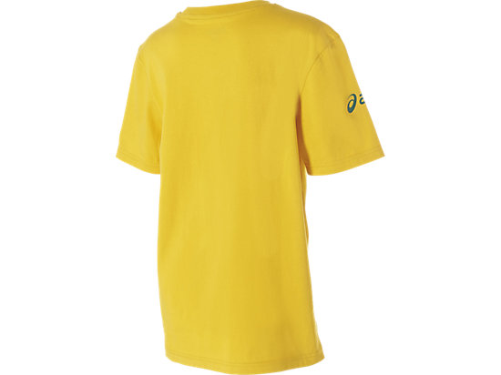 WALLABIES 2016 SUPPORTER LOGO T-SHIRT YOUTH GOLD 11