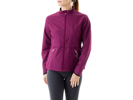 Women's Storm Shelter Jacket Magenta/Mulberry 3