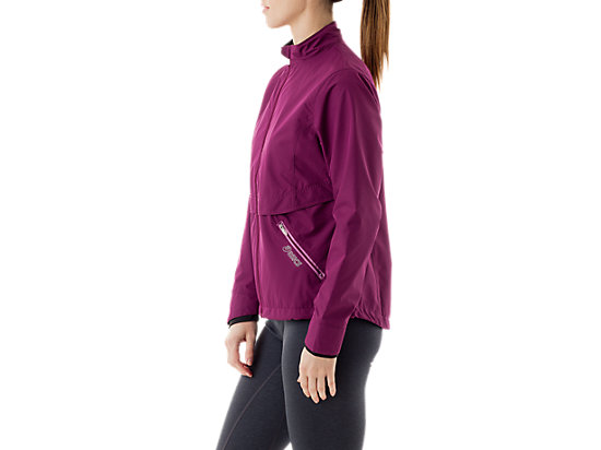 Women's Storm Shelter Jacket Magenta/Mulberry 11