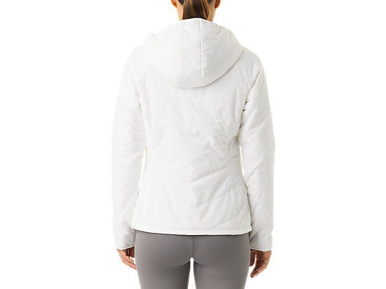 Women's Puffer Jacket White 7