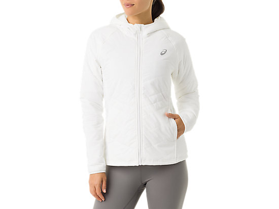 Women's Puffer Jacket White 3