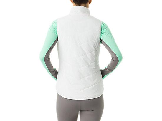 Womens Reversible Vest White/Mint 7