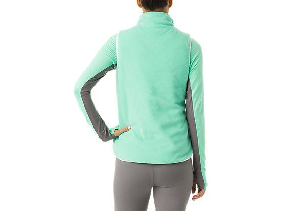 Womens Reversible Vest White/Mint 19