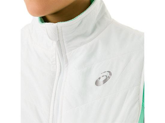 Womens Reversible Vest White/Mint 27