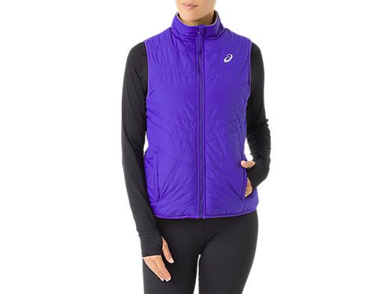 Womens Reversible Vest Royal Blue Frost 3