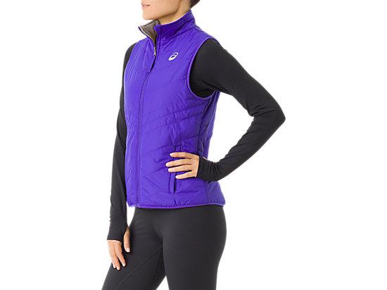 Womens Reversible Vest Royal Blue Frost 11