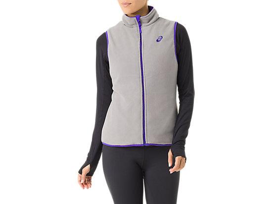 Womens Reversible Vest Royal Blue Frost 15
