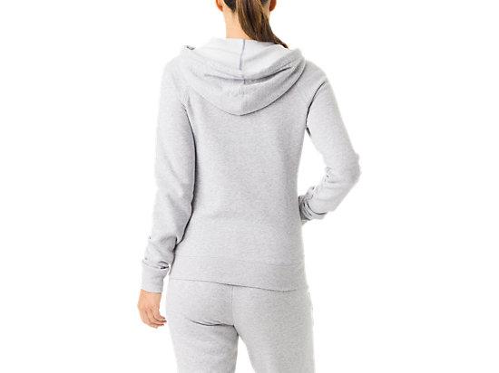 Women's Fleece Hoody Heather Grey 7