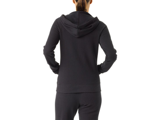 Women's Fleece Hoody Black 7