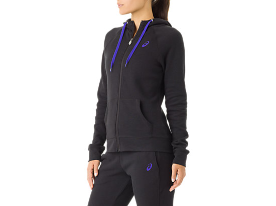 Women's Fleece Hoody Black 11