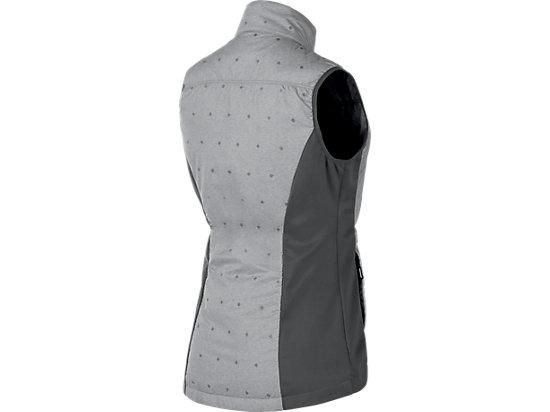 Puff Vest Dark Grey Heather Glow 7