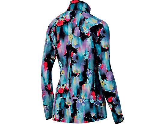 Packable Jacket Inkblot Floral 7