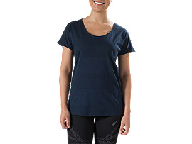 WOMEN'S WALLABIES MARLE TEAL STRIPE TEE