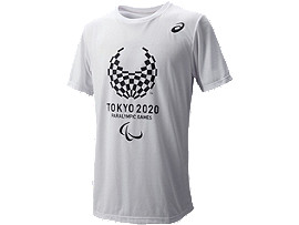東京2020パラリンピック公式ライセンス商品Tシャツ(エンブレムプリント)